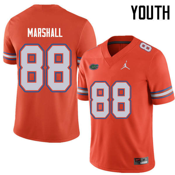 Jordan Brand Youth #88 Wilber Marshall Florida Gators College Football Jerseys Sale-Orange