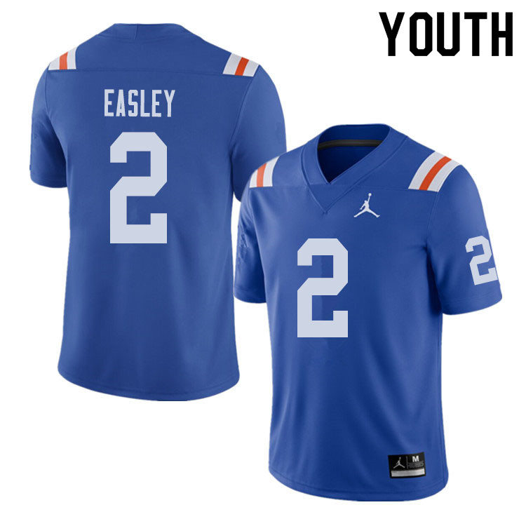 Jordan Brand Youth #2 Dominique Easley Florida Gators Throwback Alternate College Football Jerseys S